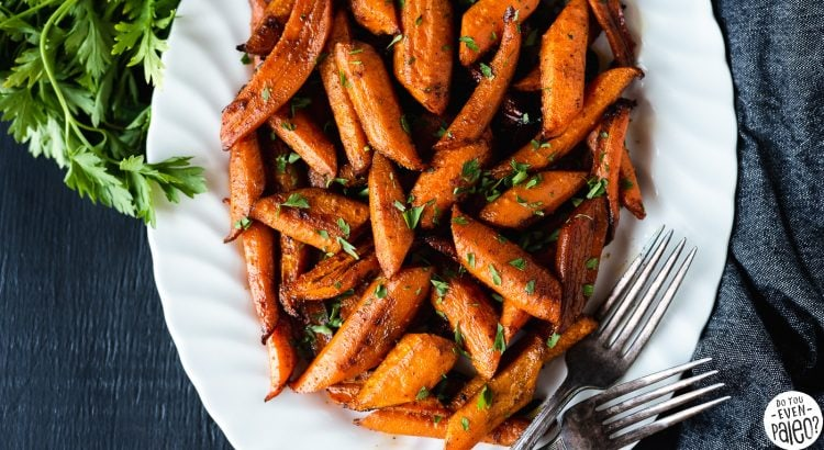 Chipotle Honey Roasted Carrots Recipe | DoYouEvenPaleo.net