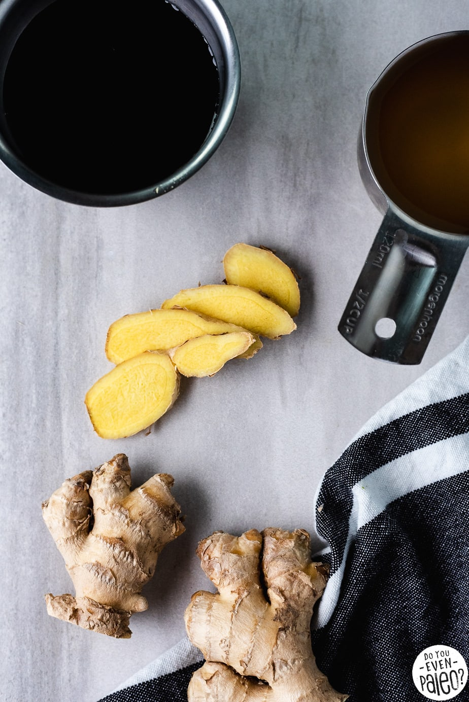 Simple Ginger Switchel Recipe by DoYouEvenPaleo.net