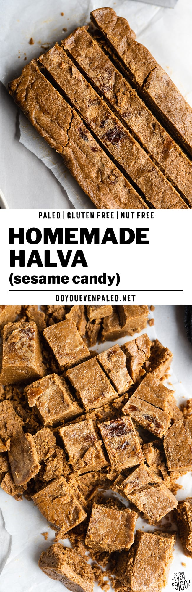 Homemade Halva Recipe (Paleo and Gluten Free) by DoYouEvenPaleo.net