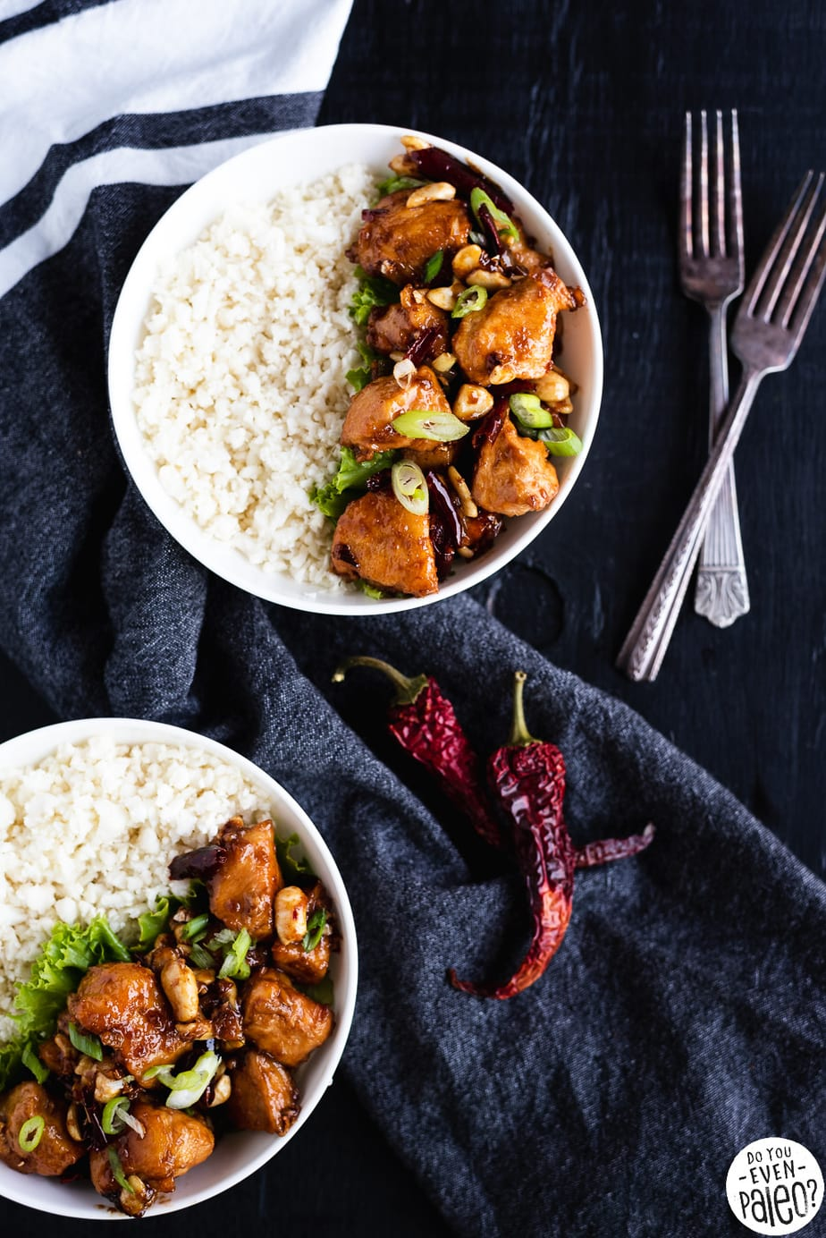 Gluten Free Kung Pao Chicken Recipe by DoYouEvenPaleo.net