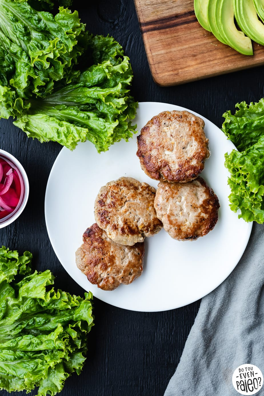 Easy Gluten Free Tuna Burgers Recipe by DoYouEvenPaleo.net