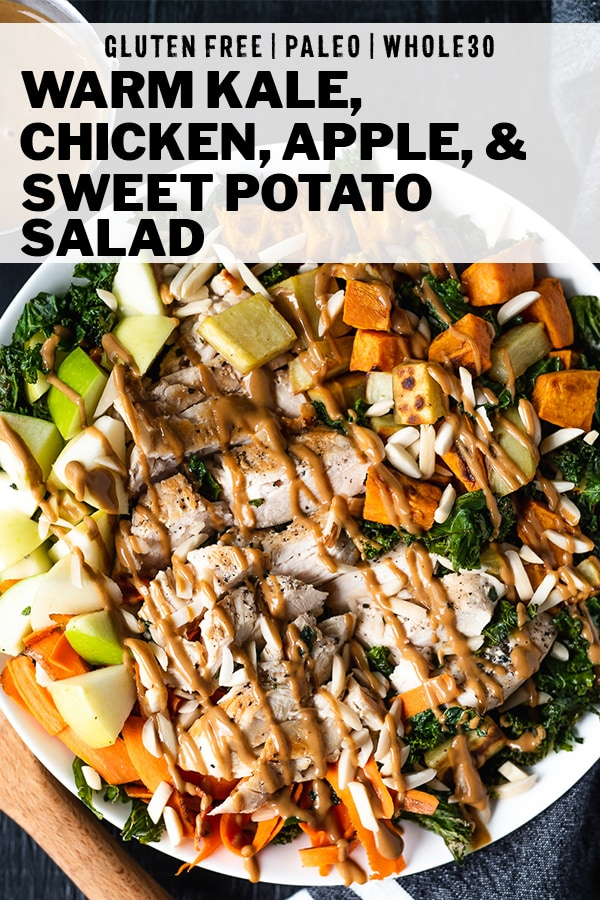 Paleo Warm Kale, Apple, and Sweet Potato Salad Recipe by DoYouEvenPaleo.net