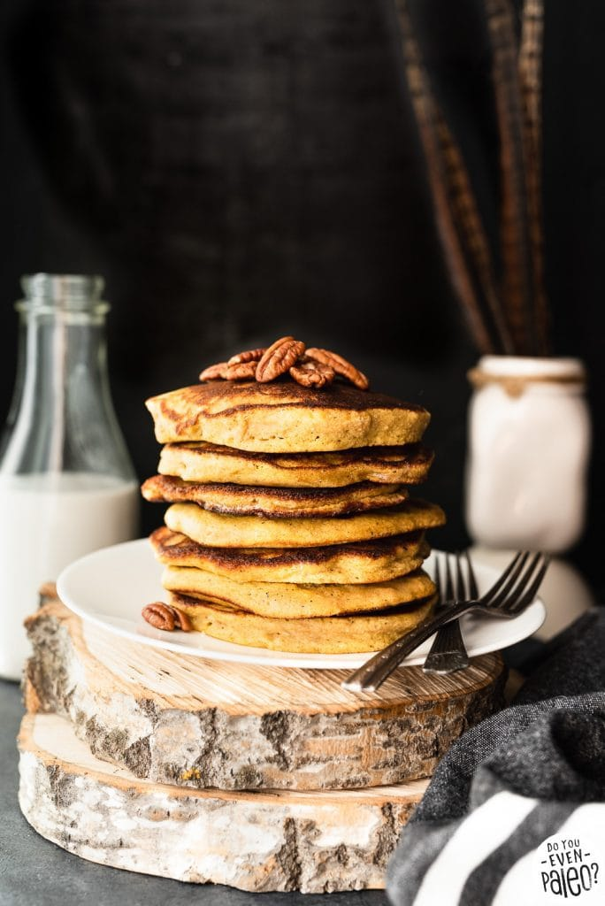 The Best Gluten Free Plantain Pancake Recipe | DoYouEvenPaleo.net