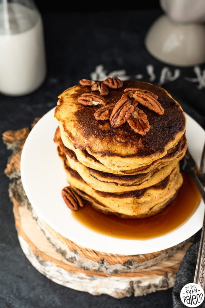 The Best Plantain Pancake Recipe | DoYouEvenPaleo.net