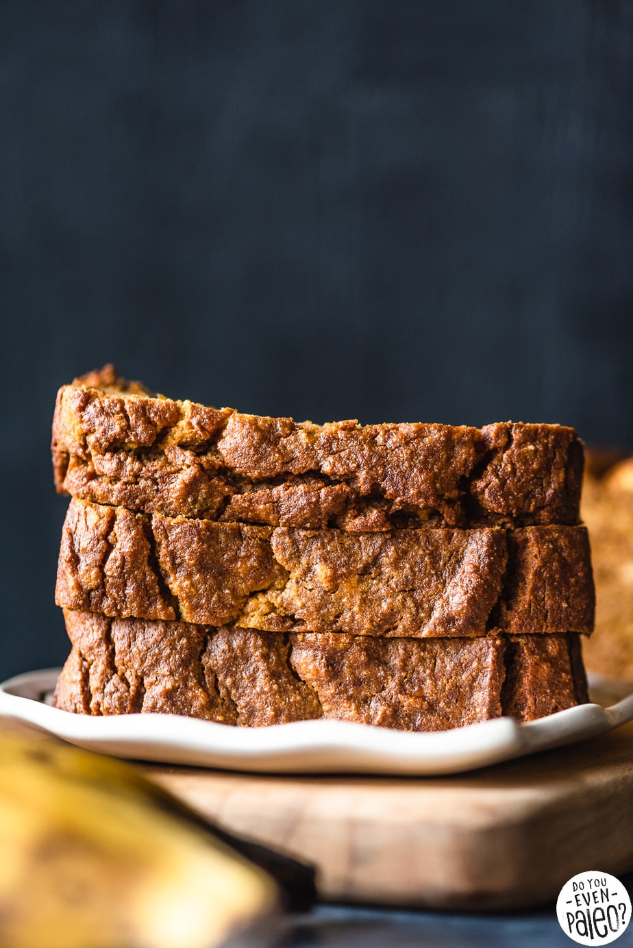 Paleo Plantain Pumpkin Plantain Bread Recipe | DoYouEvenPaleo.net