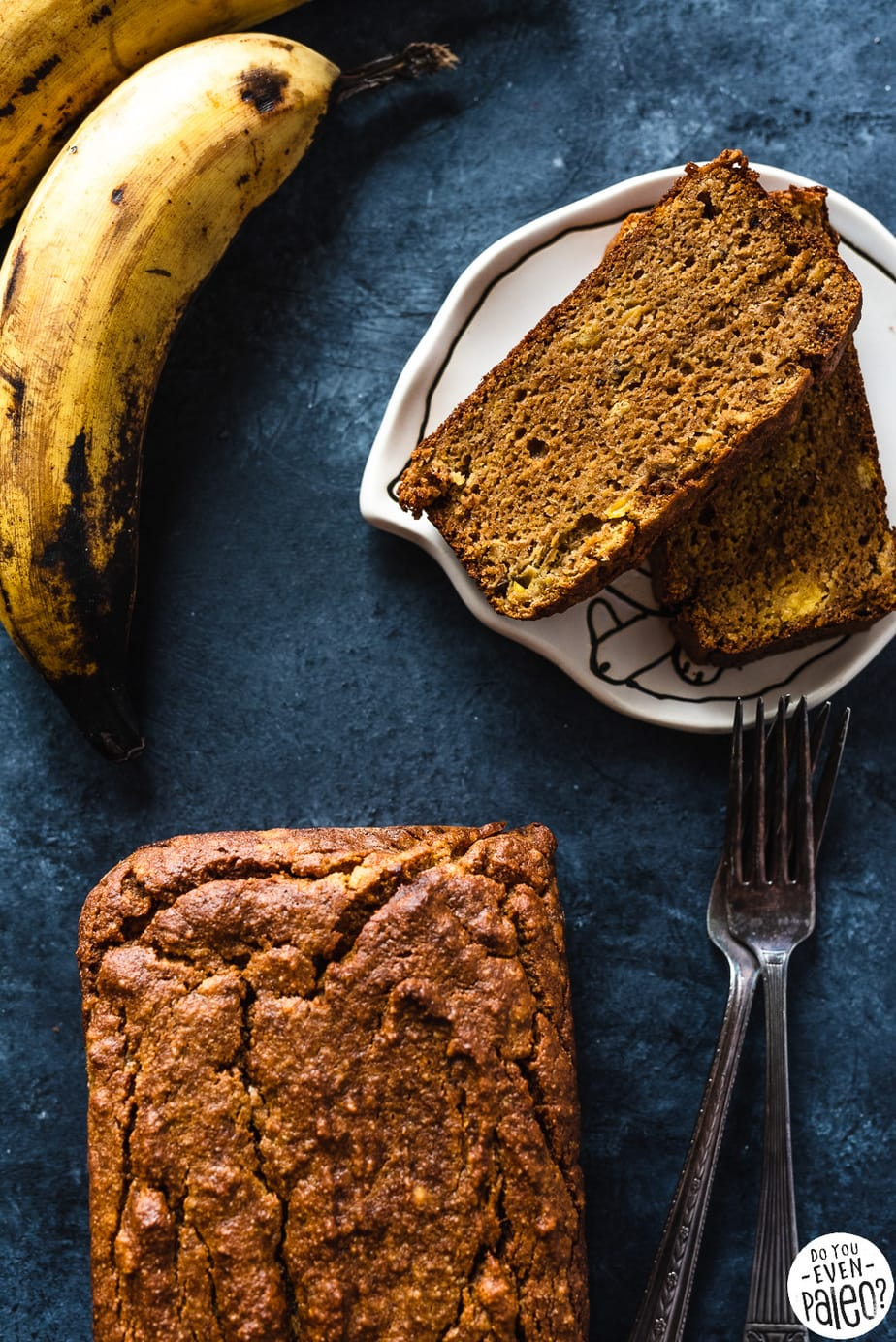 Gluten Free Plantain Pumpkin Plantain Bread Recipe | DoYouEvenPaleo.net