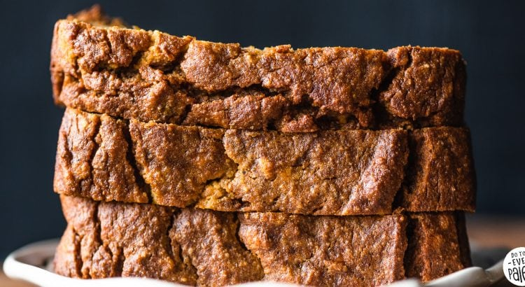 Paleo Plantain Pumpkin Bread Recipe | DoYouEvenPaleo.net