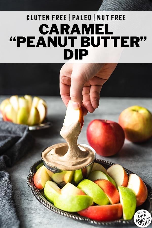 Easy Caramel Peanut Butter Dip Recipe | DoYouEvenPaleo.net