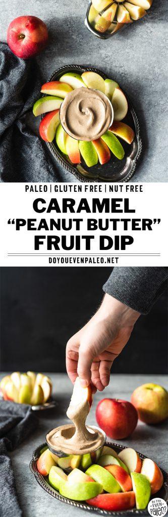 "Easy Paleo Caramel ""Peanut Butter"" Dip Recipe | DoYouEvenPaleo.net"
