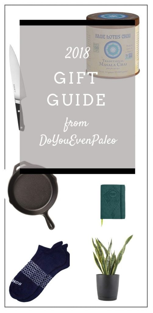 2018 Gift Guide from DoYouEvenPaleo - I've rounded up my favorite purchases of the year, from cast iron to the best socks ever to my favorite planner!