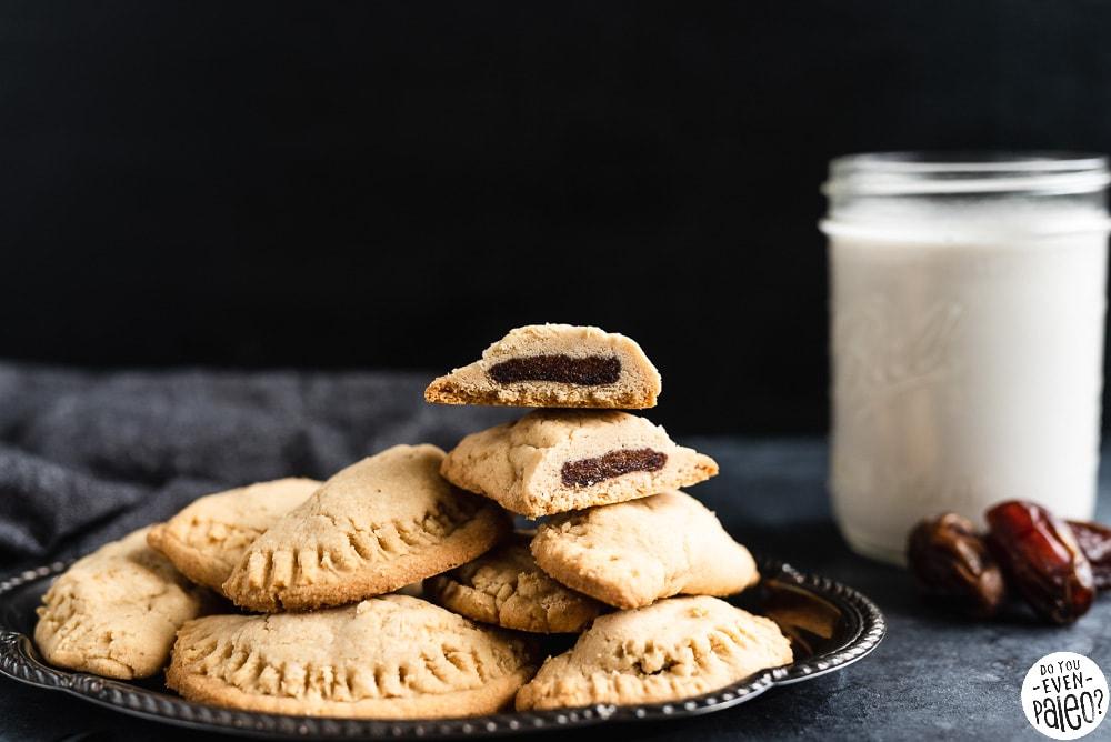 Gluten Free Stuffed Date Cookies Recipe | DoYouEvenPaleo.net