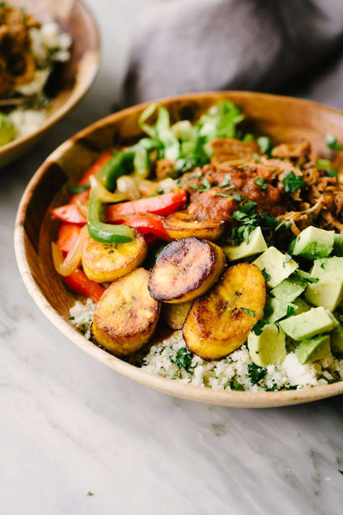 Paleo Burrito Bowl by Our Salty Kitchen