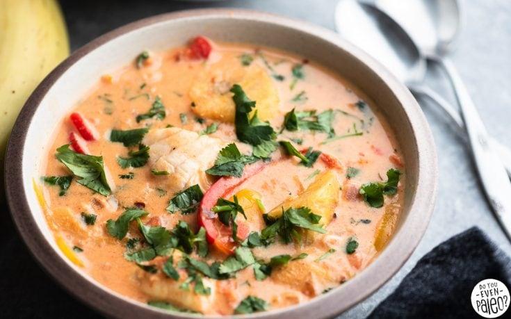 Whole30 Brazilian Fish Stew (Moqueca)