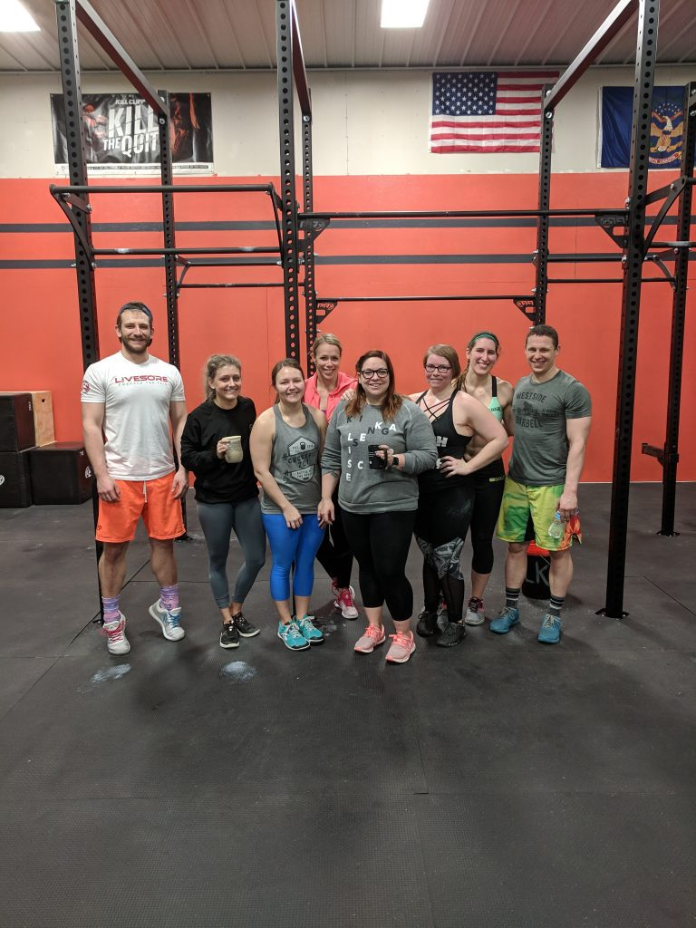 My fitness crew at Strong Roots ND