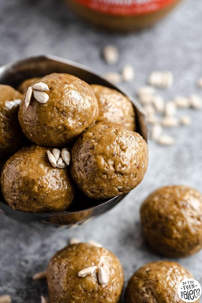 Nut Free SunButter Energy Bites