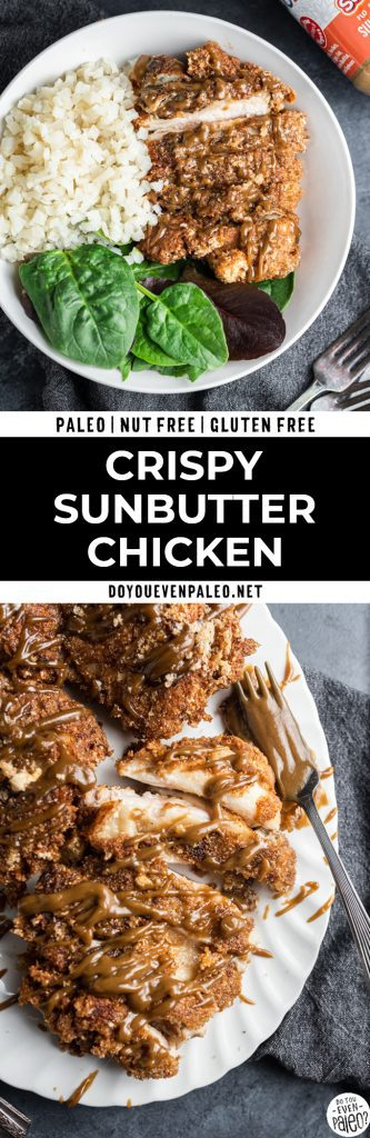 Pin for Crispy SunButter Chicken