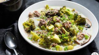 Italian Sausage and Broccoli Soup