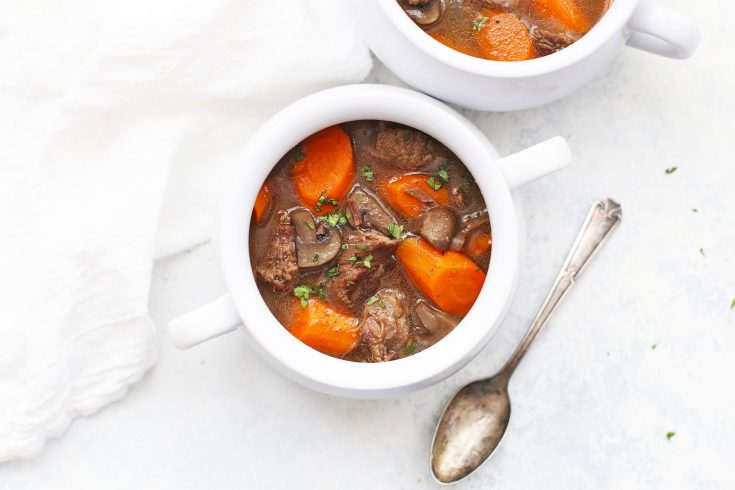 Slow Cooker Beef Stew (Paleo + Whole30)