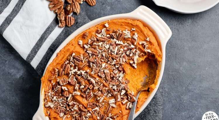 Simple carrot & sweet potato casserole