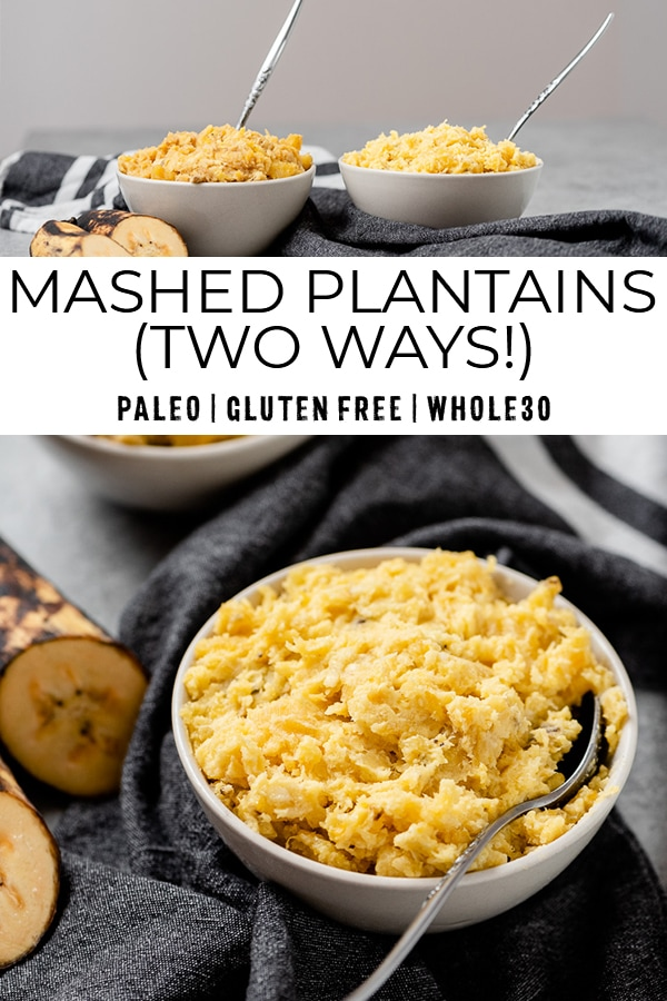 Mashed plantains recipe