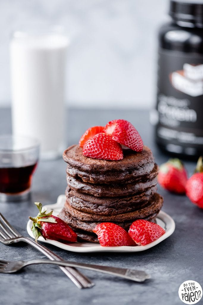 Whey-free protein pancakes with Active Stacks Beef Protein