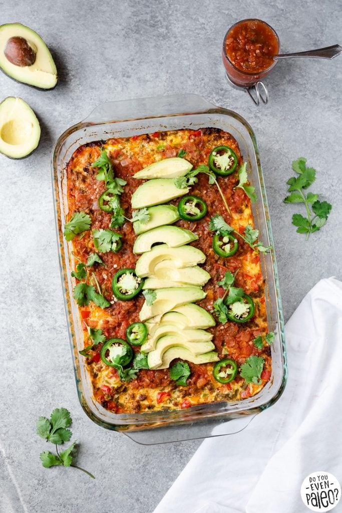 Chorizo Breakfast Casserole
